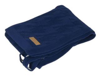 iCandy Blanket - Dogtooth Navy