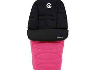 Oyster 2 Footmuff - Wow Pink