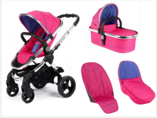 iCandy Peach Pushchair and Carrycot Set - Bubblegum