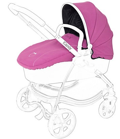 iCandy Strawberry Carrycot Flavour Pack - Elderberry