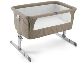 Chicco Next 2 Me Crib - Dove Grey