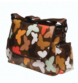 OiOi Butterfly Messenger Bag