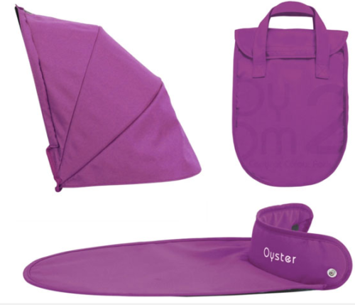 Oyster 1 - Carrycot Colour Pack - Grape