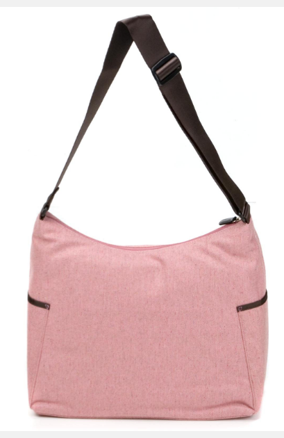 OiOi Hobo Bag Herringbone Pink