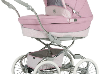 Bebecar Stylo Class and Matching Bag - Pink Sparkle