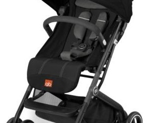 GB - Qbit Plus Stroller - Monument Black